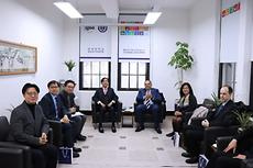 World bank Vice President visits IGEE